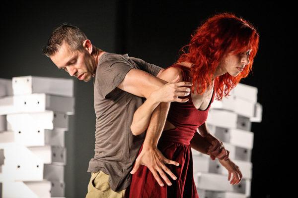 ballerini durante spettacolo di danza a vicenza