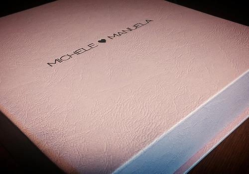 album matrimonio personalizzato con nomi sposi
