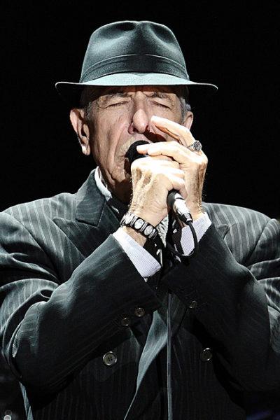Leonard Cohen in concerto