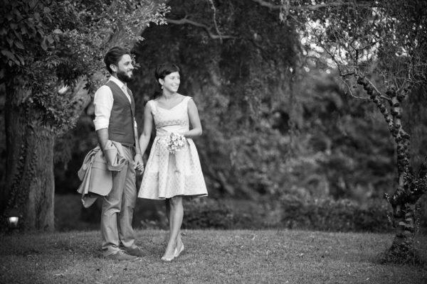 coppia sposi alberi giardino trattoria molin vecio caldogno vicenza