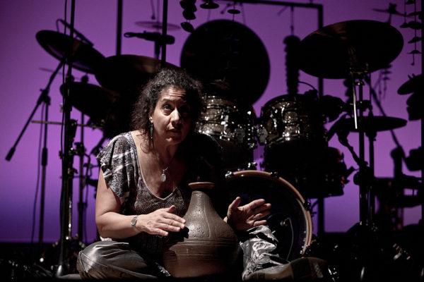 Marilyn Mazur in concerto