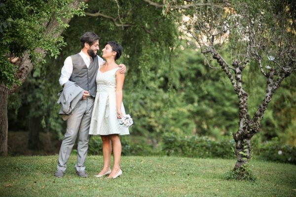 sposi nel parco del molin vecio a caldogno
