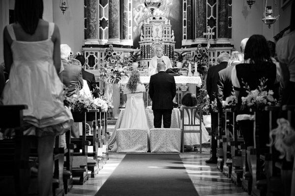 foto chiesa durante matrimonio vicenza