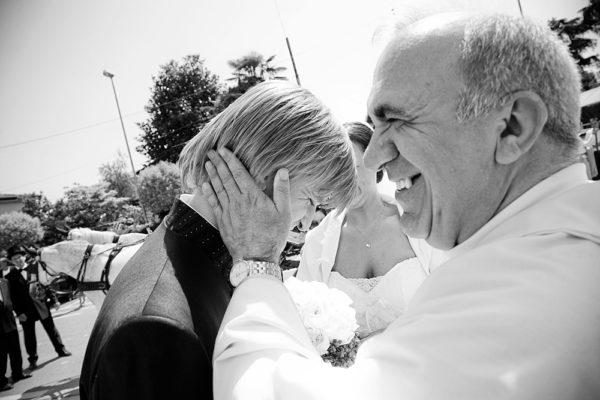 parroco e sposo di matrimonio a padova
