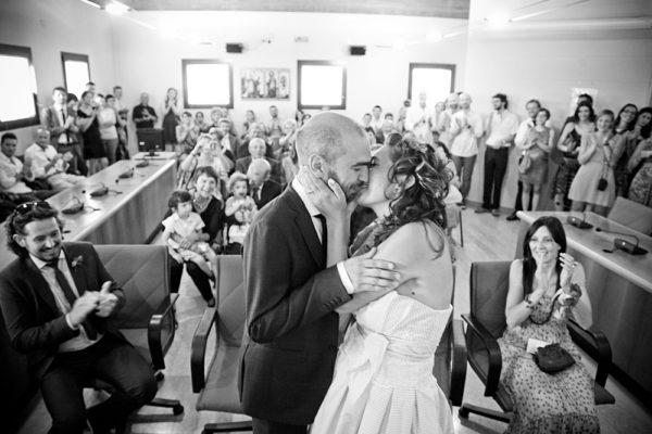 vicenza matrimonio bacio