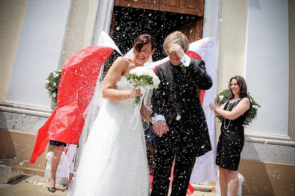 lancio del riso matrimonio vicenza