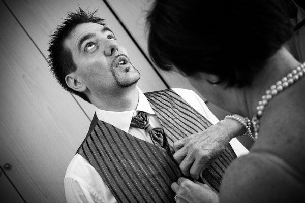 vestizione matrimonio sposo a vicenza